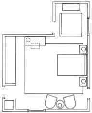 Bedroom Retreat floor plan