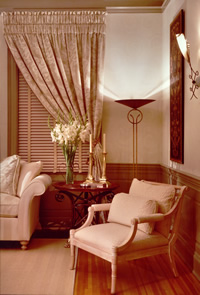 Living Room chair Baltimore MD region interior design services